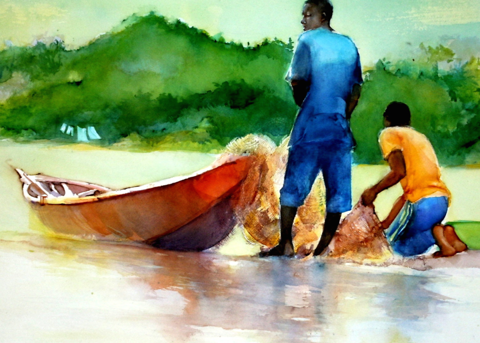 Along the River Niger