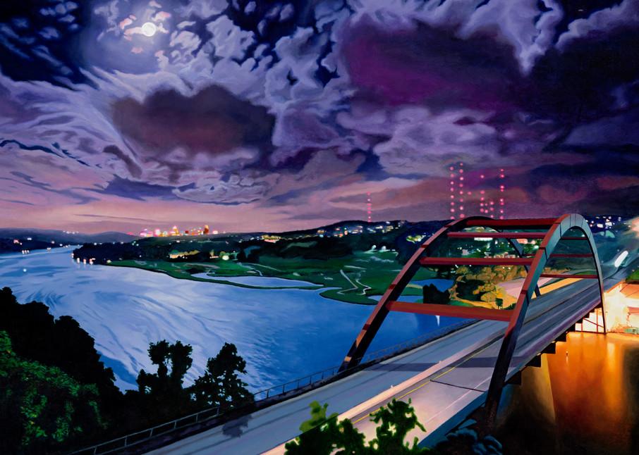 360 Bridge, Austin Art, The Art of Max Voss-Nester