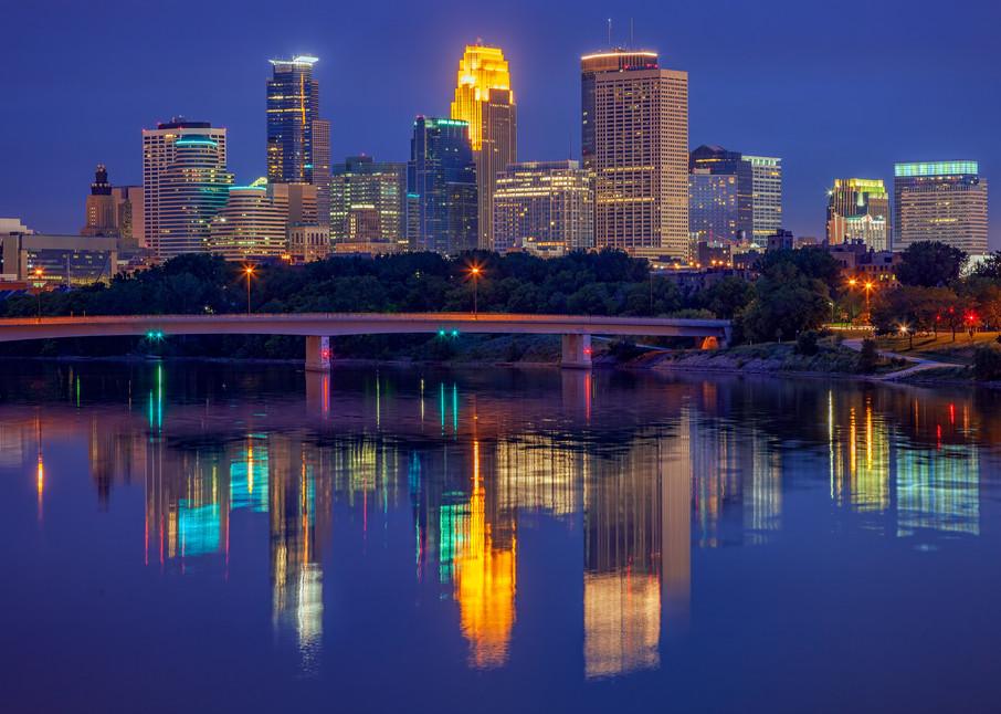 Minneapolis Twilight | Shop Photography by Rick Berk