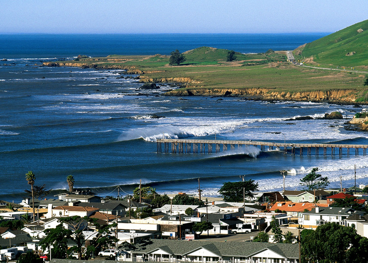 Wintertime in Cayucos, CA by Josh Kimball Photography