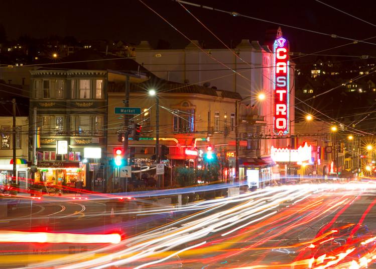 Castro Night by Josh Kimball Photography