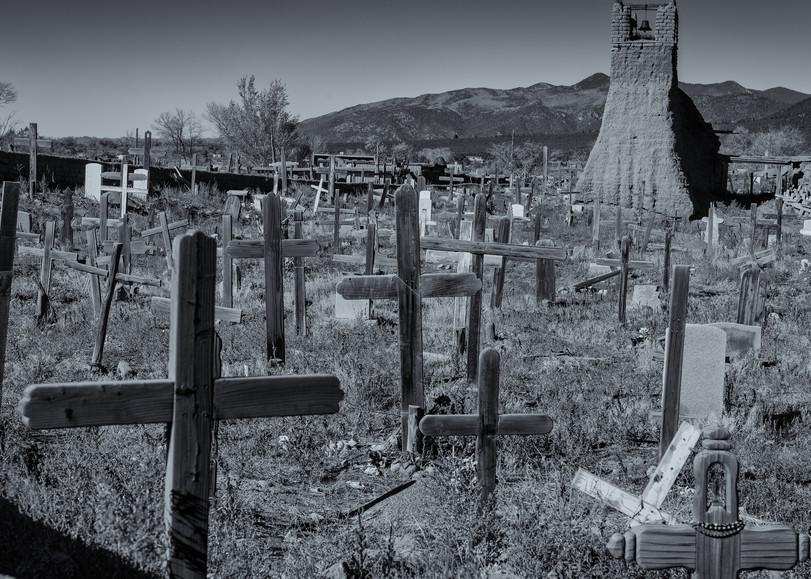 Cemetary   Taos Pueblo New Mexico Photography Art   Namaste Photography