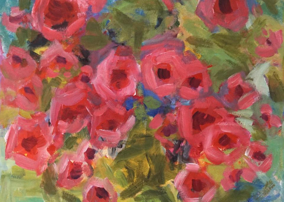 Rose Garden Art | Marcy Brennan Art