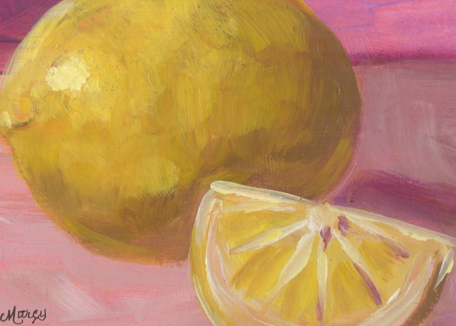 Lemon Glow Art | Marcy Brennan Art