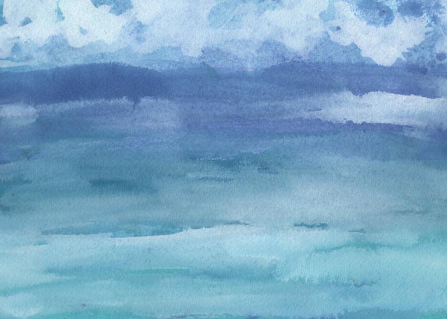Mountain Lake Art | Marcy Brennan Art