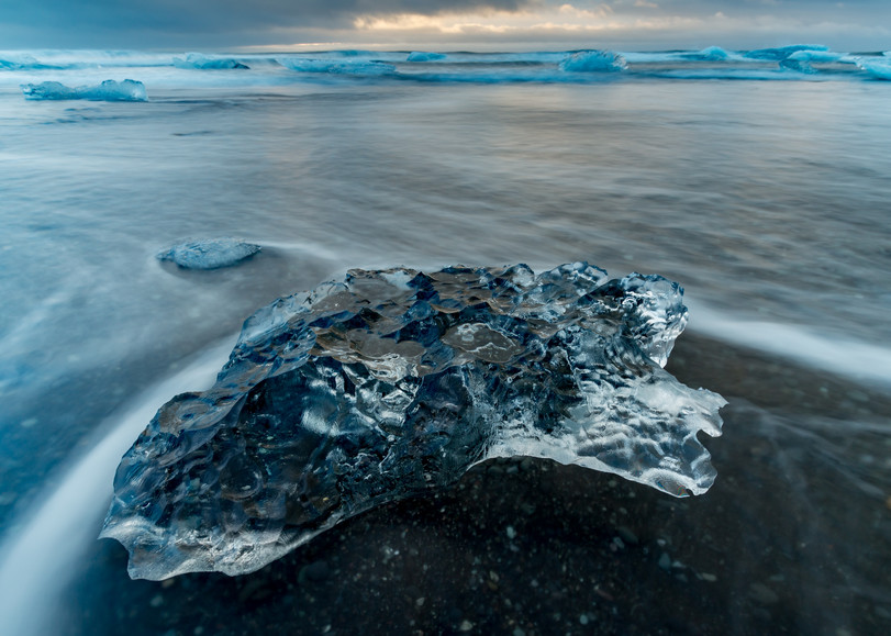 Stranded Ice Photography Art | Kirk Fry Photography, LLC