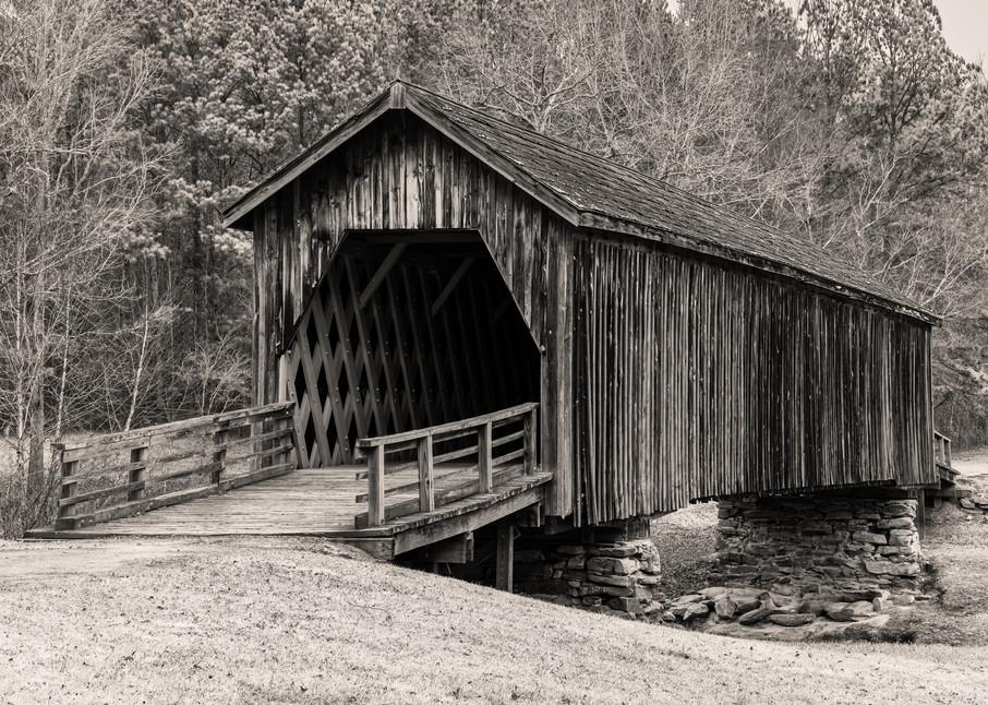 Auchumpkee Creek Covered Bridge photography print