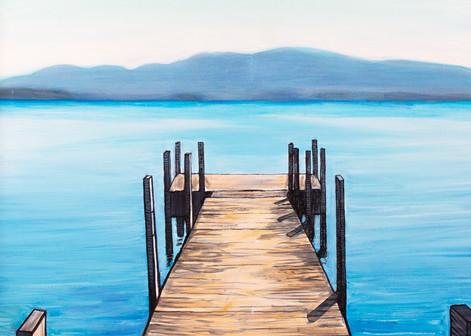 Dock On The Bay Art | Adam Schwankl