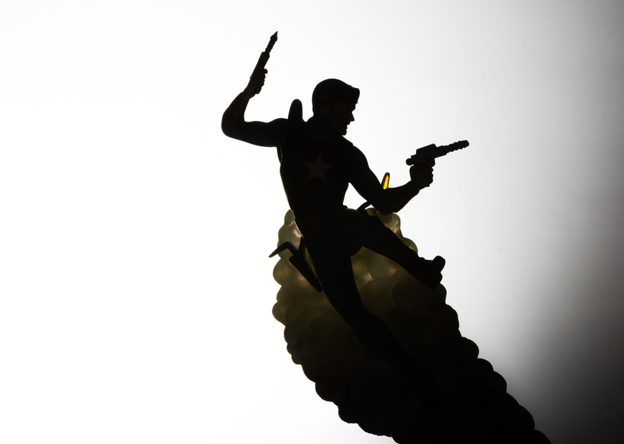 Buck Rogers Silhouette  Photography Art | Nathan Larson Photography