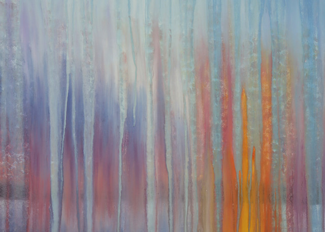 Rainy Sunset Over Maine Harbor By Rachel Brask Art | Rachel Brask Studio, LLC