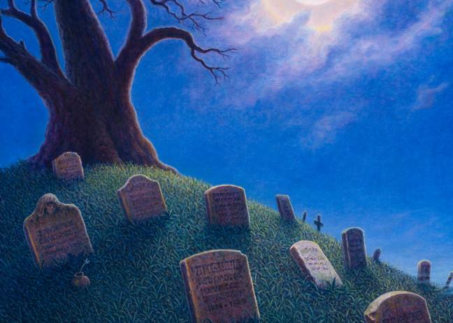 Resting In Peace Custom Print Art | markhensonart