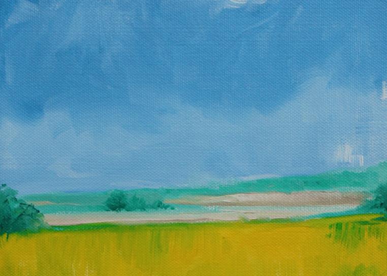 The lonesome poppy fine art print by Hilary J. England