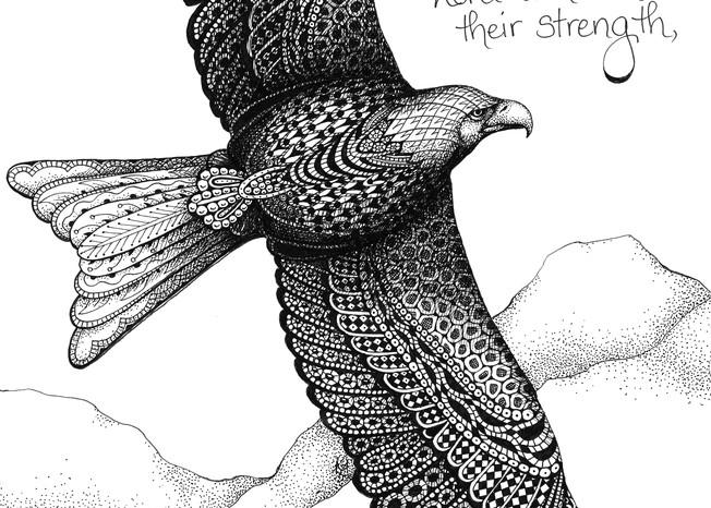 Isaiah 40 (eagle)