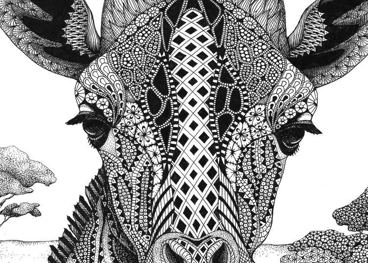 Serengeti Plains (Giraffe)