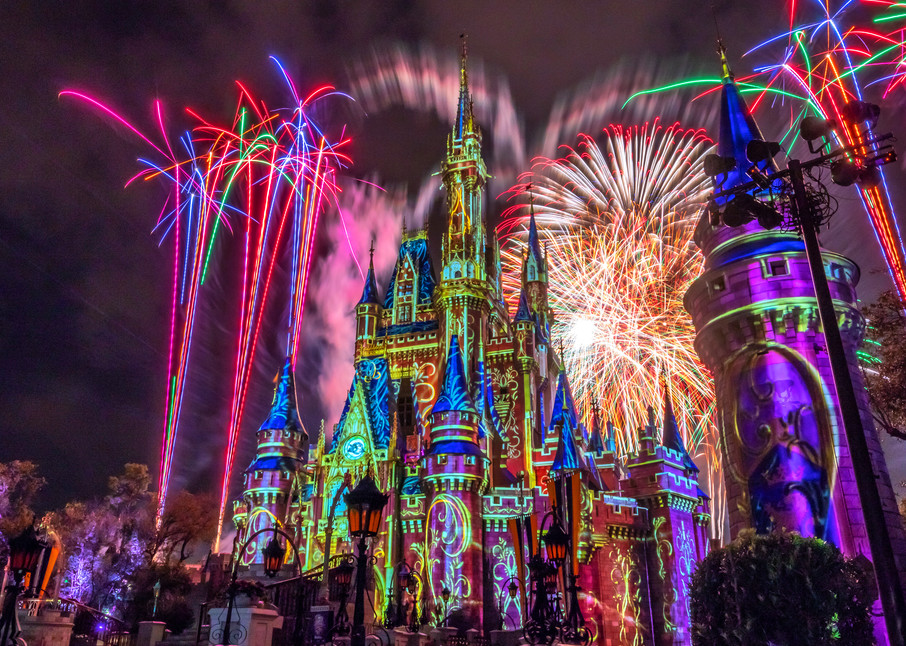 Happily Ever After Finale 5 - Large Disney Wall Art | William Drew