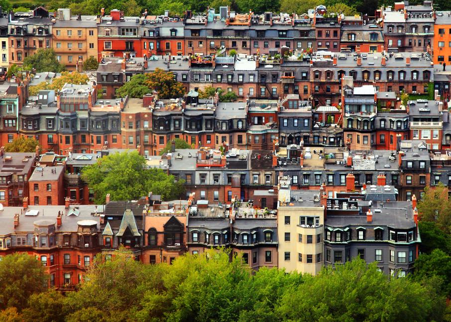Back Bay Neighborhood, Boston, MA by Rick Berk