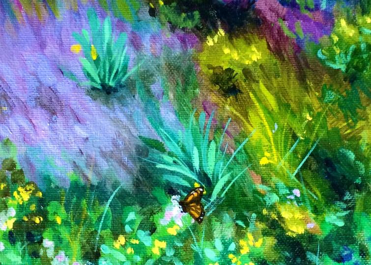 Monarch on the hillside Fine Art Open Edition Print