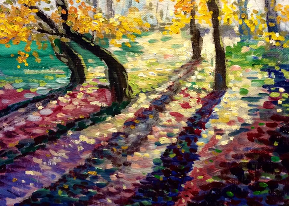 Twilight and Shadows Fine Art Print by Hilary J. England