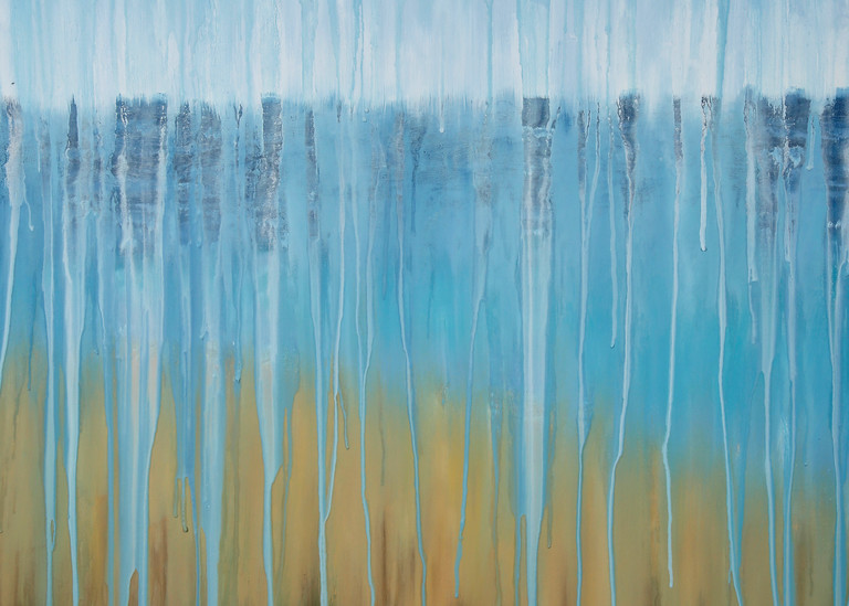 Rainy Moment 07   Beach Dreams By Rachel Brask Art | Rachel Brask Studio, LLC