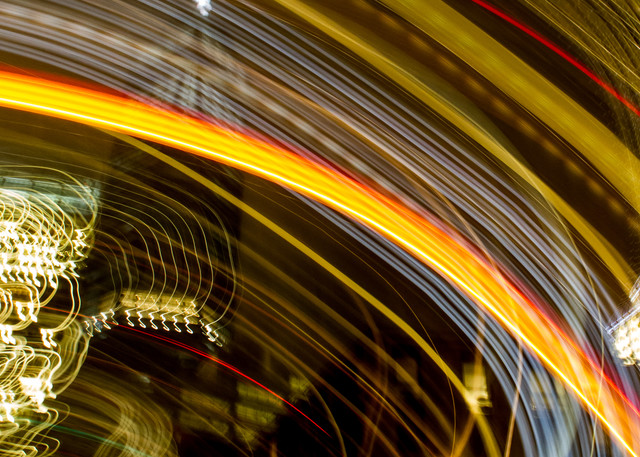 New York City At Night One World Motion Abstract Photography Art   Nathan Larson Photography
