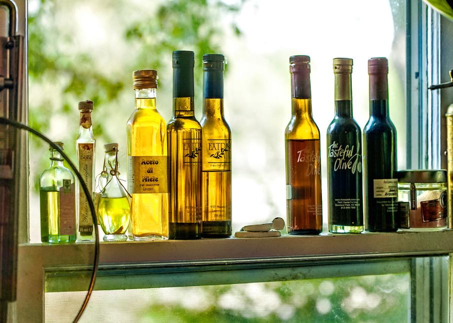 Americana color photograph: Oil and vinegar, by fine art photographer, David Zlotky