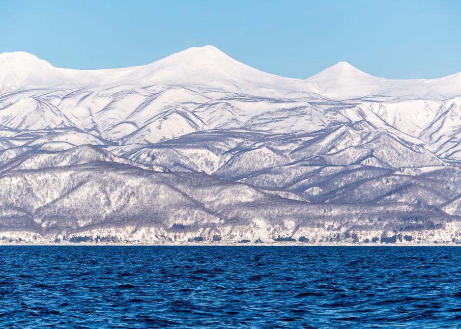 Mountains in Shiretoko