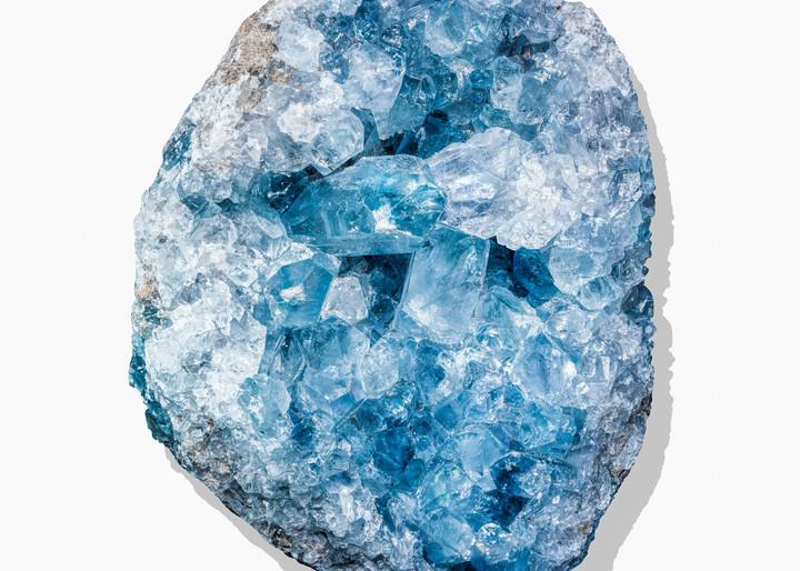 Timothy Hogan Blue Geode 1