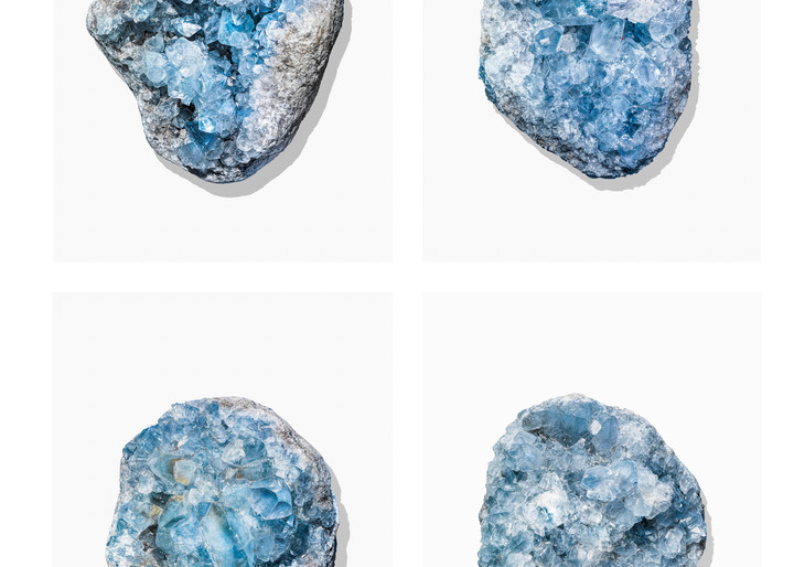 Timothy Hogan Blue Geodes 4Up