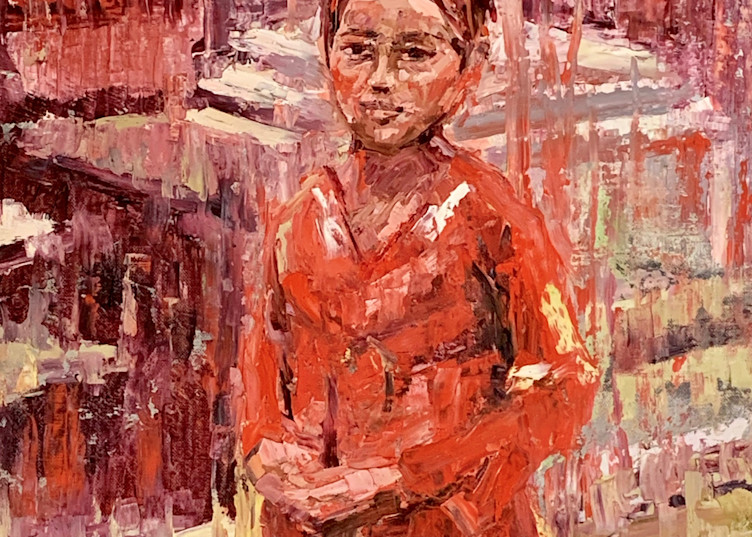 She's Been Here Before by Debra Schaumberg   ART