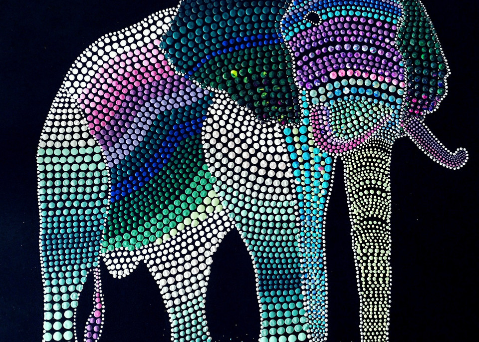Magical Elephant Print