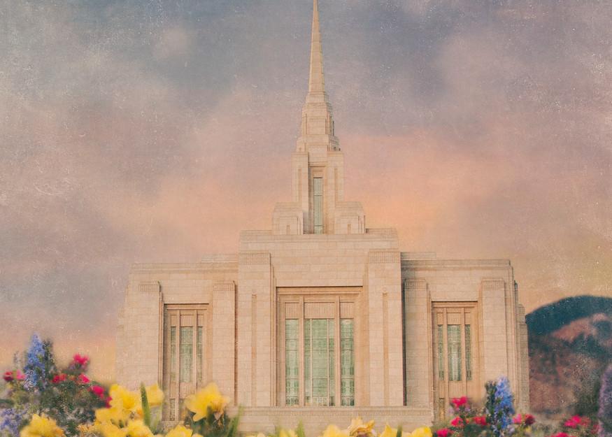 Ogden Temple  Art | Mandy Jane Williams Art