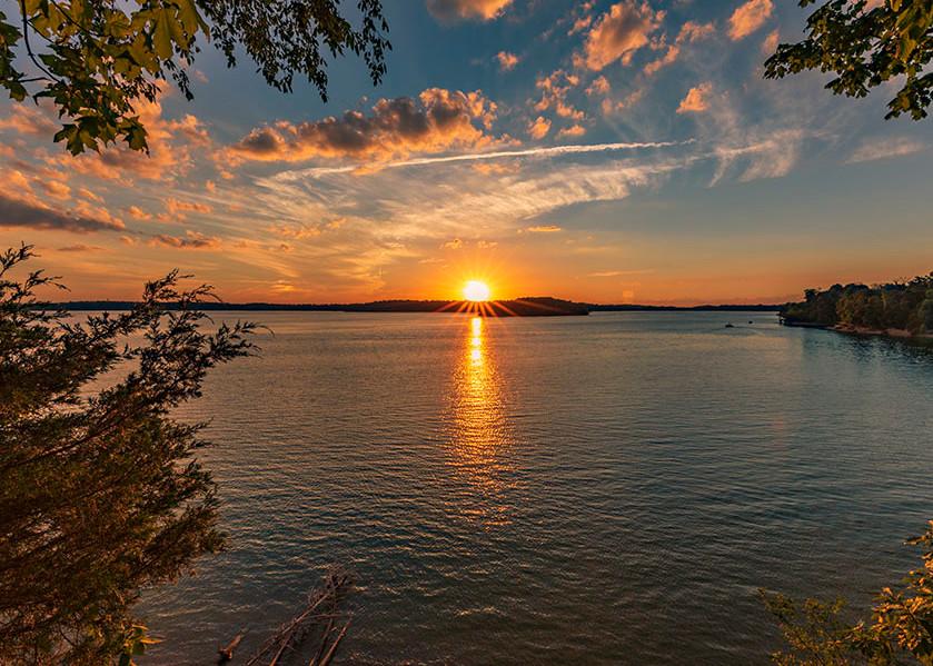 Caesar Creek Colorful Sunset No.1