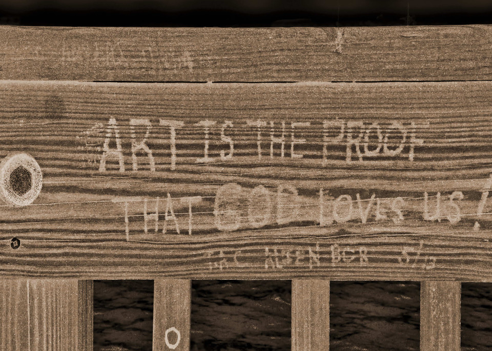 Art is the Proof - Sepia by Kerry Rawlinson a Zambian photographer.