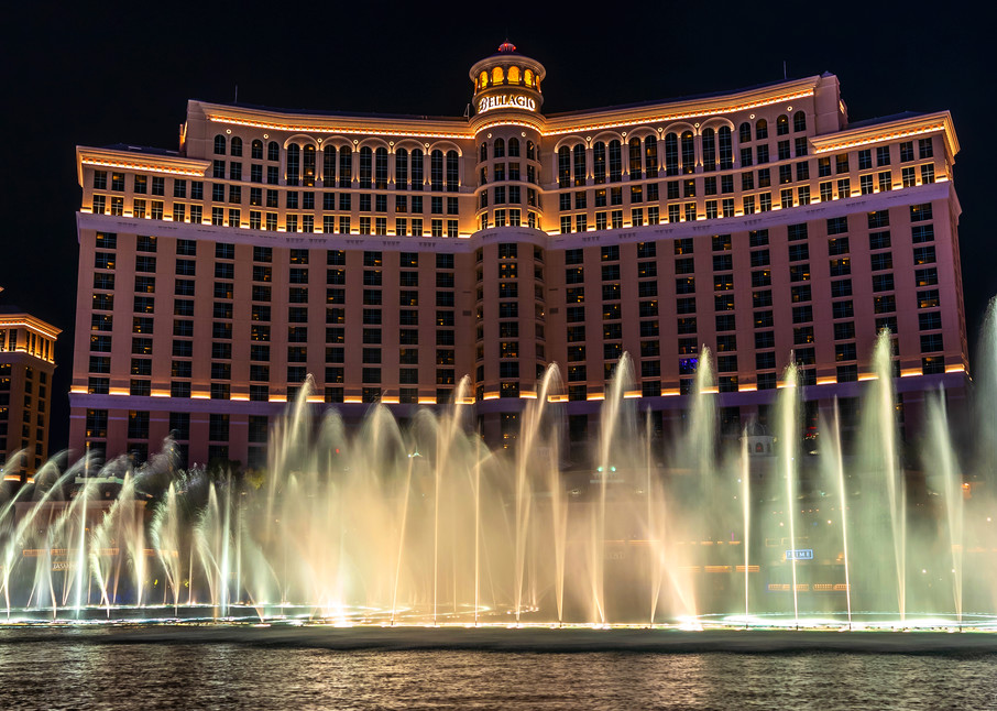The Fountains at Bellagio - Las Vegas Images | William Drew Photography