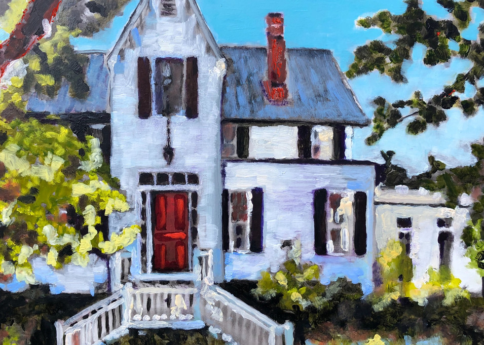 Harbour House Charleston | Fine Art Painting Print by Rick Osborn