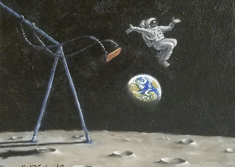 Jumping Over the World Fine Art Prints