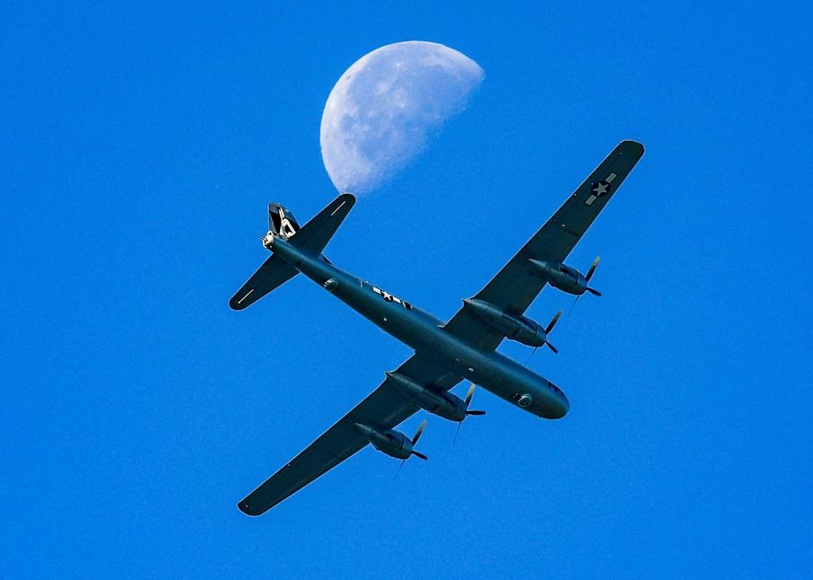 Lunar B-29 Superfortress fine art photography print