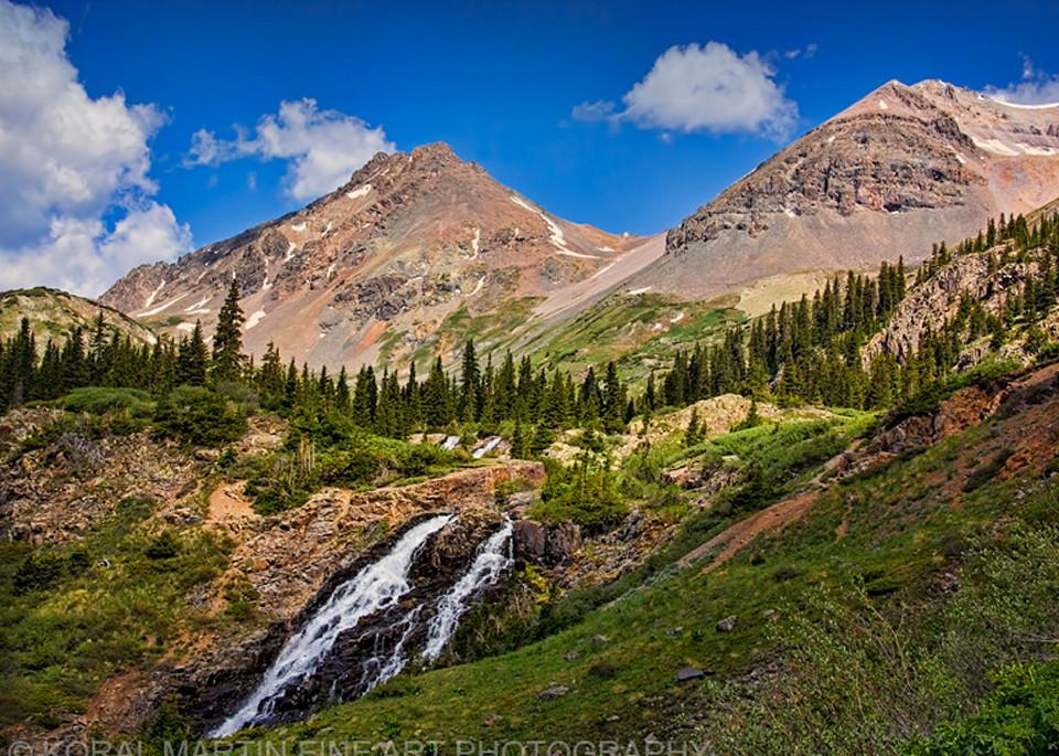 Yankee Boy Waterfall 1503 54 Photograph | Colorado  Photography |  Koral Martin Fine Art Photography