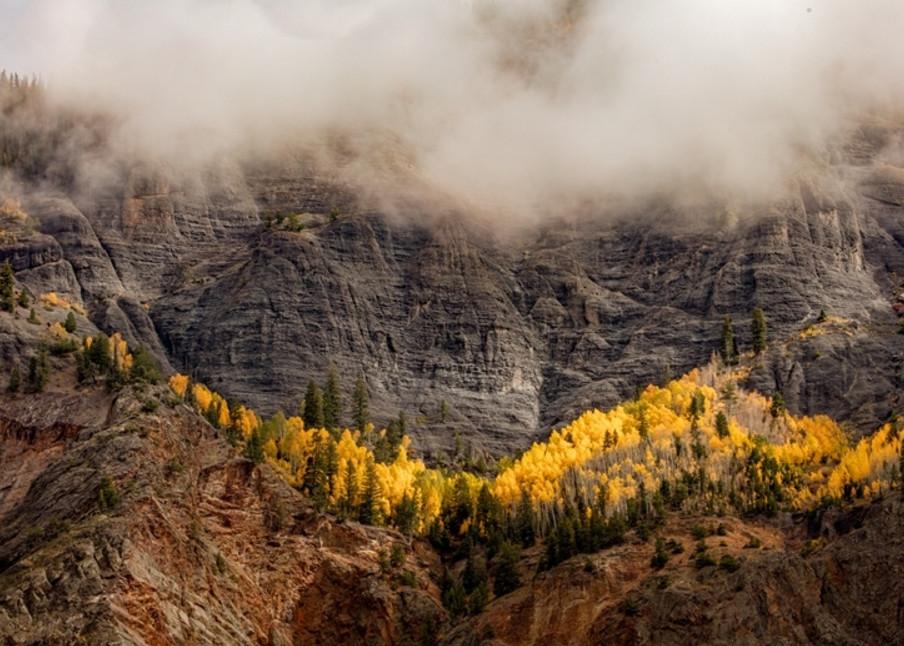 Foggy Mountain Photograph 868 MDR | Colorado Photography | Koral Martin Fine Art Photography
