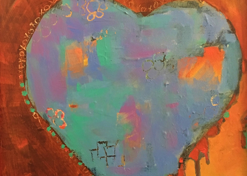 Xoxo Heart Art | PoroyArt