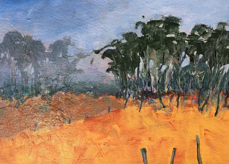 Big Sur Treeline 2 Art   PoroyArt