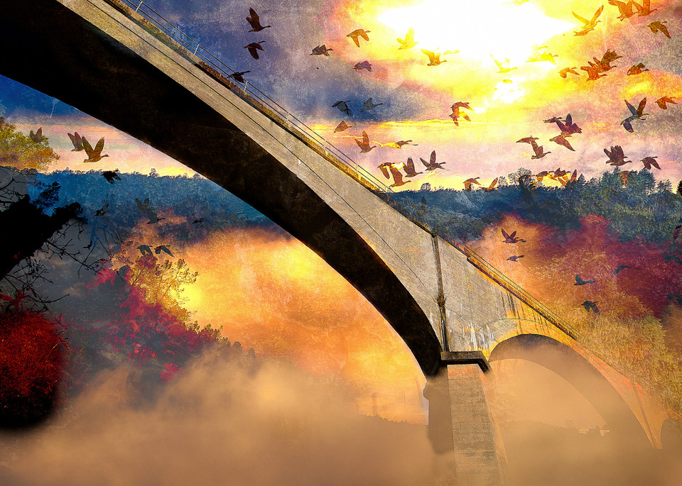 No Hands Bridge is one of the oldest bridges located in the foothills of Auburn, California.