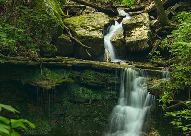 Artist Point Waterfall Photograph 4645   Waterfall Photography   Koral Martin Fine Art Photography