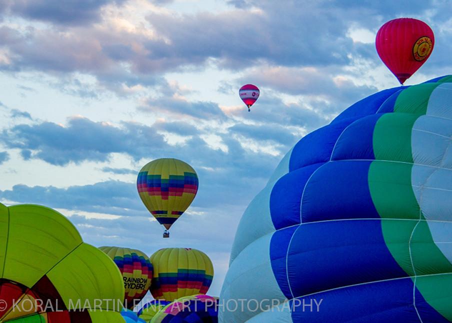 Albuquerque Balloon Fiesta Photograph 3090 | New Mexico Photography | Koral Martin Fine Art Photography