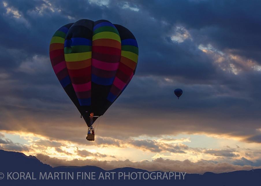 Albuquerque Balloon Fiesta Photograph 3115 | New Mexico Photography | Koral Martin Fine Art Photography