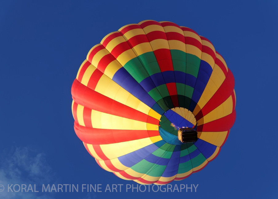 Albuquerque Balloon Fiesta Photograph 3315 | New Mexico Photography | Koral Martin Fine Art Photography