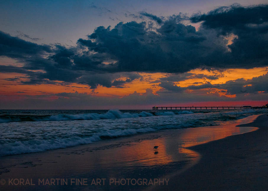 Beach Sunset Photograph 1693 Florida G960  | Florida Photography | Koral Martin Fine Art Photography