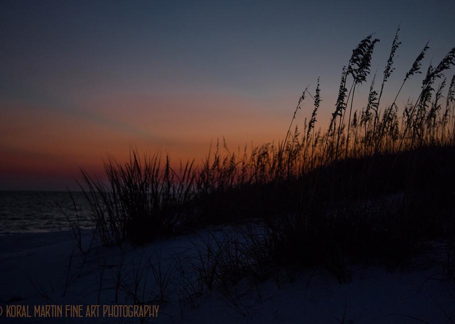 Ocean Sunset on Beach Photograph 1231 FL  | Florida Photography | Koral Martin Fine Art Photography