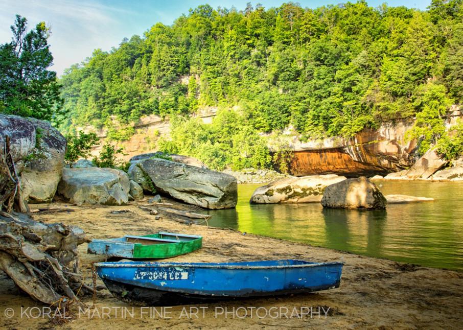 Boats Cumberland Falls Photograph 0147g Photograph 1  | Kentucky Photography | Koral Martin Fine Art Photography