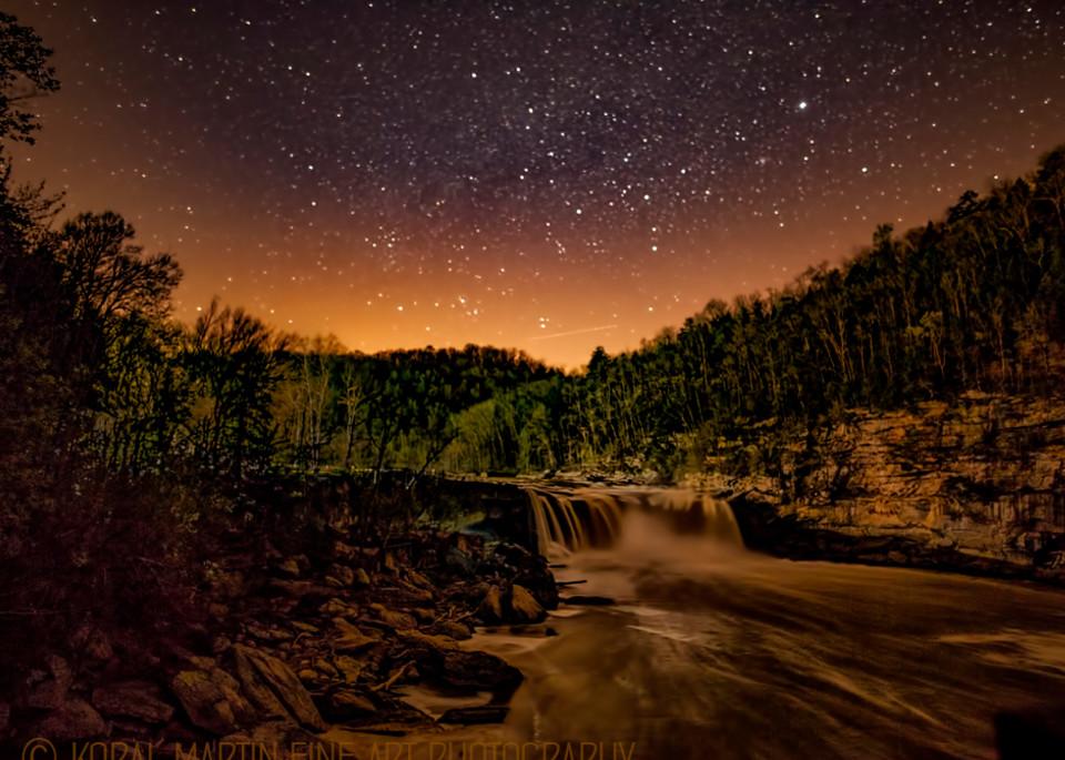Cumberland Falls Night Photograph 8382  | Kentucky Photography | Koral Martin Fine Art Photography